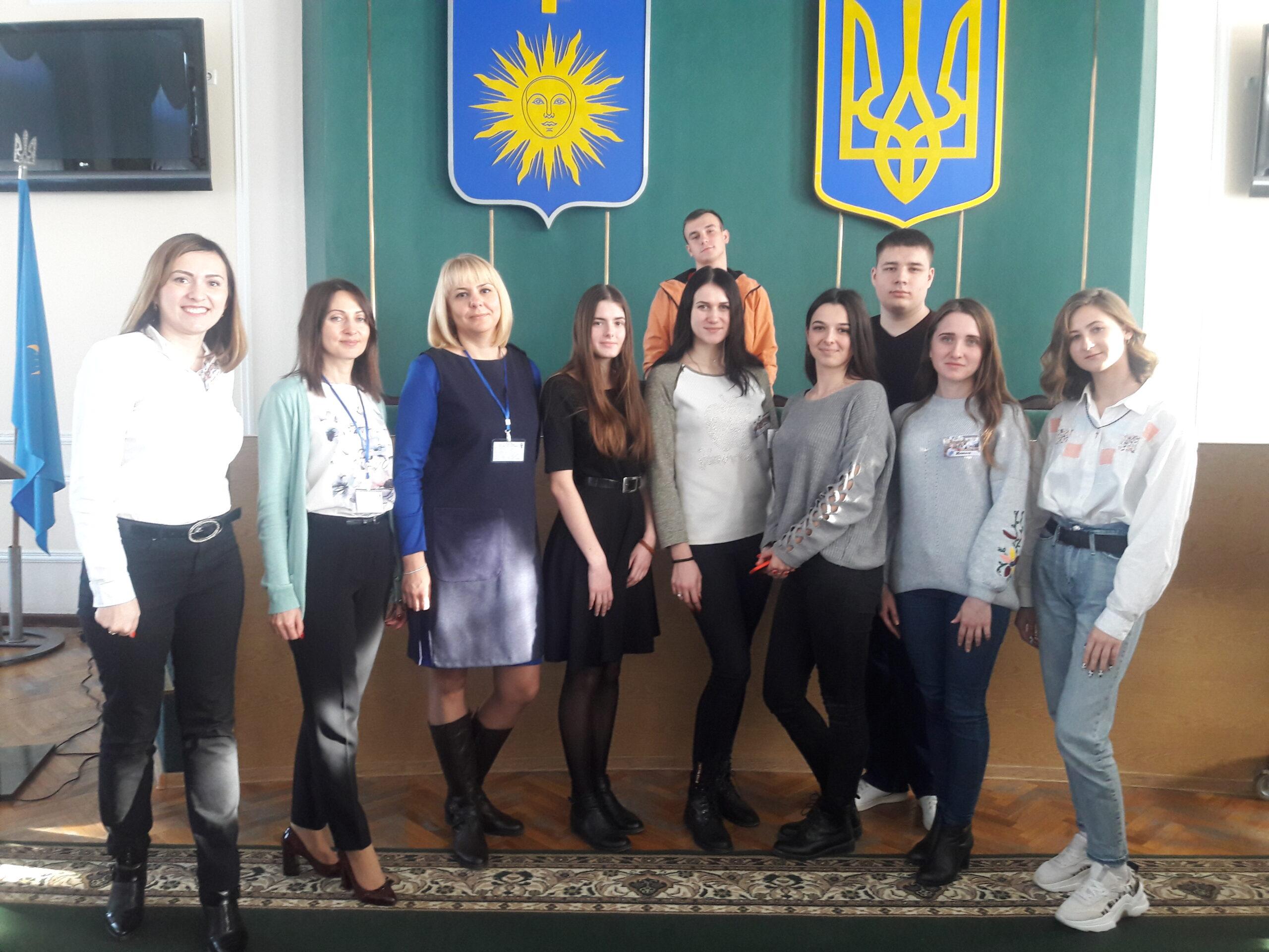 Участь студентів-економістів у семінарі в рамках грантової коучингової програми Кам'янця-Подільського